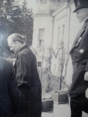 Właściciel Sienna Wilhelm von Born-Fallois, lata dwudzieste XX wieku